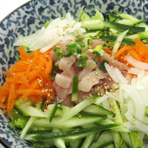 Poke Salad Hawaiian-Style Donburi