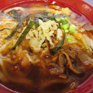 Spicy Pork Udon