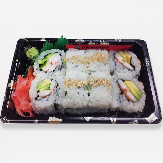 Shrimp and Avocado Roll (8 pcs)