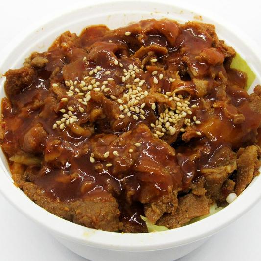 Spicy Pork Donburi