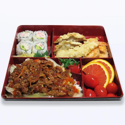 Spicy Pork Bento