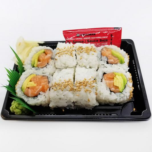Salmon and Avocado Roll (8 pcs)