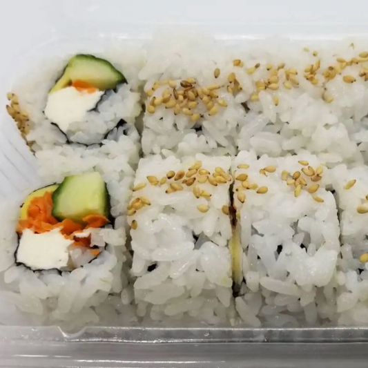 Vegetable Roll with Cream Cheese (8 pcs)