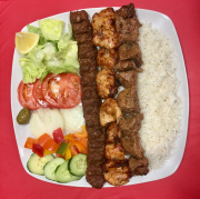 9. Combo Kabab