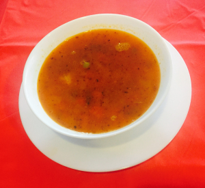 1. Vegetable Soup