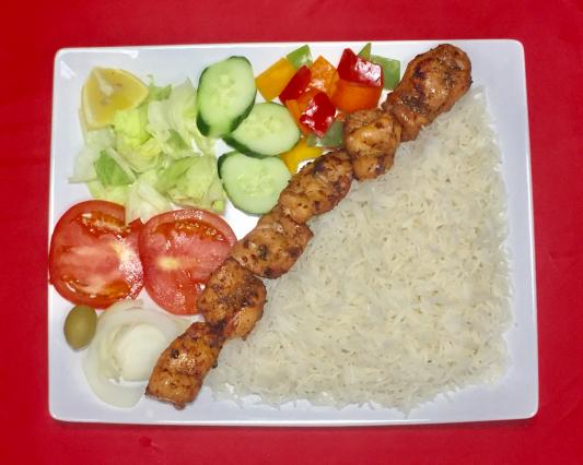 7. Chicken Kabab