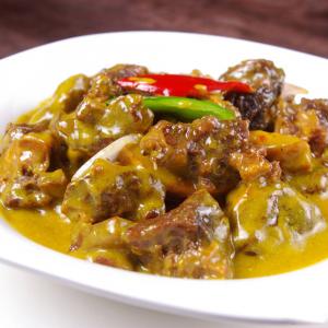2110. Malaysia Style Curry Beef Brisket in Casserole 马来咖喱牛腩煲