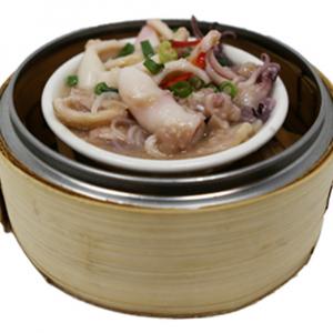 9112. Steamed Squid with Shrimp Paste 大澳虾酱鲜鱿