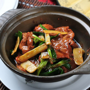 2104. Stir Fried Beef with Ginger & Scallion 蚝皇姜葱牛肉