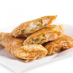 9410. Pan Fried Shrimp Bean Curd Sheet Rolls 生煎腐皮卷