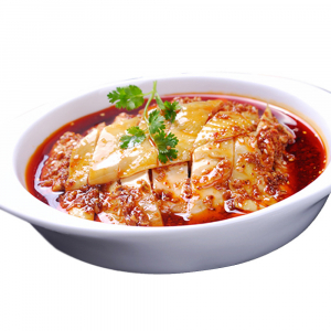 2303. Szechuan Style Shredded Chicken (1/4) 麻辣口水鸡 (1/4)