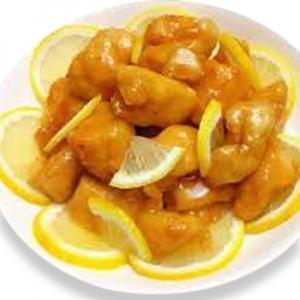 2317. Deep Fried Chicken with Lemon Sauce 新奇士檸檬雞