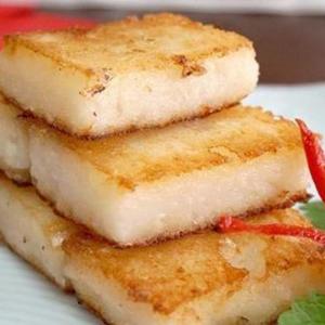 9411. Pan Fried Cubed Turnip Cake 腊味萝卜糕