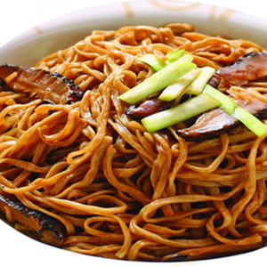 4301. Two Kind of Mushrooms with E‐Foo Noodle 雙菇燴伊麵