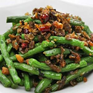 3103. Stir Fried Green Bean with Minced Pork 干煸四季豆