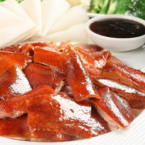 2281. Peking Duck Two Course 片皮鸭(二食)片皮鸭,鸭架云吞汤