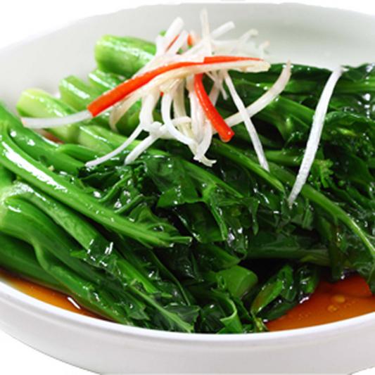 3105. Stir Fried Gai Lan with Garlic 拍蒜芥兰
