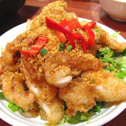 2509. Deep Fried Pork Chop Deep Fried Eggplants with Typhoon Shelter 避風塘肉排