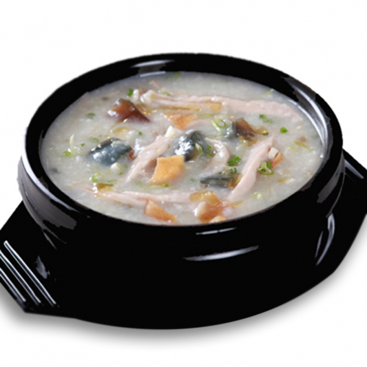 9601. Lean Pork and Century Egg Congee 皮蛋瘦肉粥