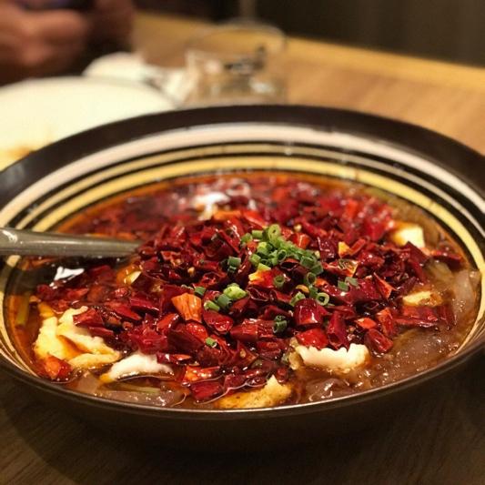 1313. Szechuan Style Boiled Beef 麻辣水煮鱼