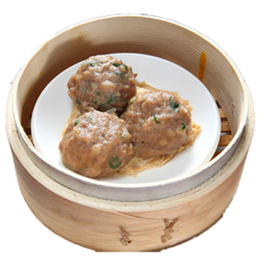 9108. Steamed Ground Beef Meat Ball 山竹牛肉