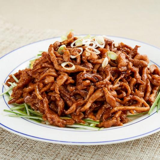 2502. Shredded Pork with Peking Sauce 京酱肉丝