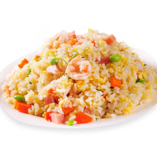 4103. BBQ Pork & Shrimp Fried Rice 扬州炒饭