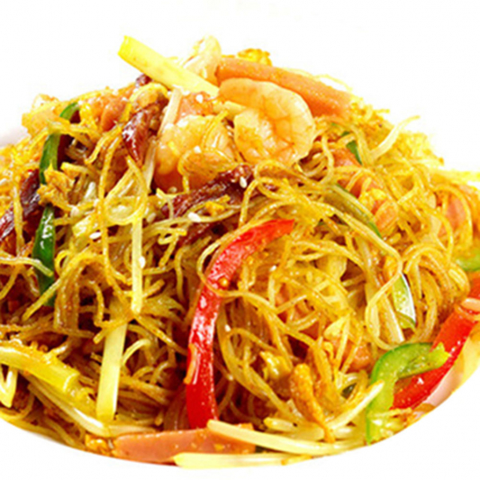 4210. Fried Vermicelli Singapore Style 星洲炒米