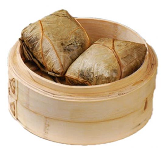 9107. Sticky Rice in Lotus Leaf Wrap 野米珍珠鸡