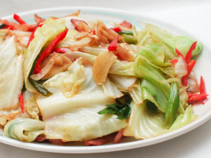 A9. Stir Fried Cabbage with Vinegar