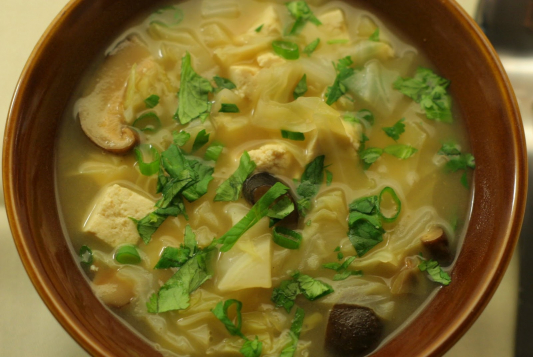 A57. Pork & Sour Cabbage in Soup