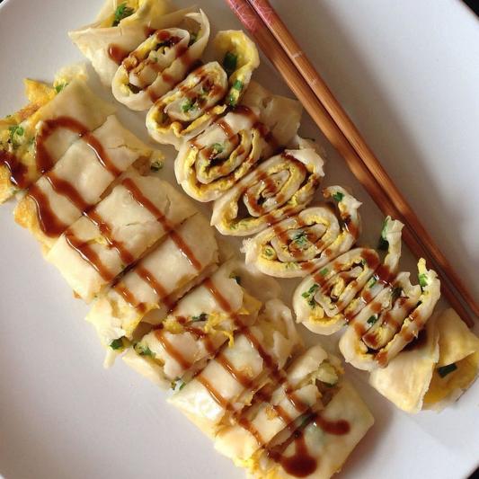 F4. Chinese Egg Pancake
