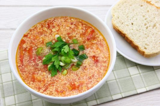 G3. Tomato & Egg Soup
