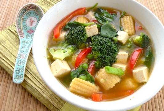 G5. Vegetables & Tofu Soup
