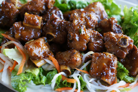 A31. Stir Fried Pork Ribs with Hot Pepper