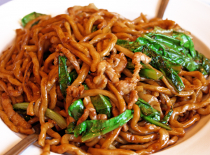K4. N-Curry Chicken Stir Fried Noodles