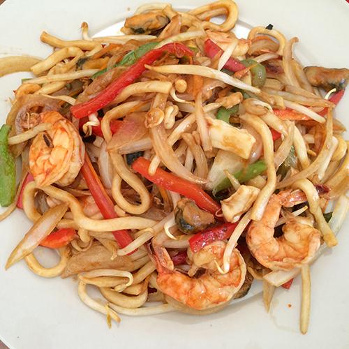 K8. Seafood Stir Fried Noodles