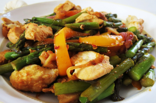 C12. Sauteed Chicken with Pepper