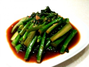 58. Gai Lan with Garlic or Oyster Sauce