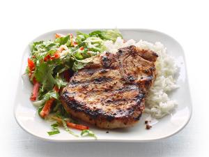 33. Grilled Lemon Grass Pork Chop