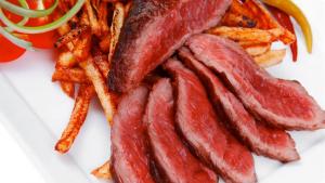 50. Rare Beef