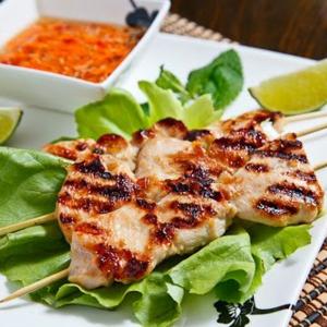 46. Grilled Lemon Grass Chicken (piece)