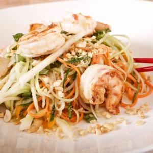 5. Green Papaya & Shrimp Salad