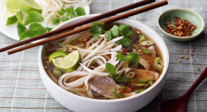 16. Rare Beef & Chicken Noodle Soup