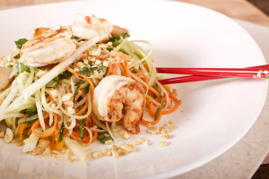 5. Green Papaya & Shrimp Salad