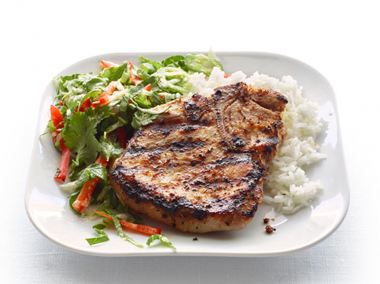 33. Grilled Lemon Grass Pork Chop