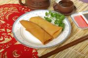 1. Vegetarian Crispy Spring Roll