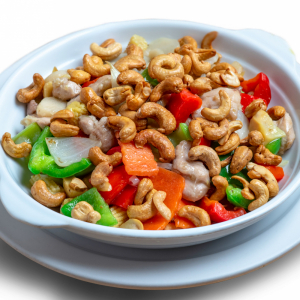 45. Diced Chicken with Cashew Nuts