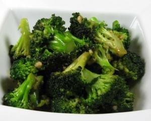 81. Sauteed/Garlic Broccoli