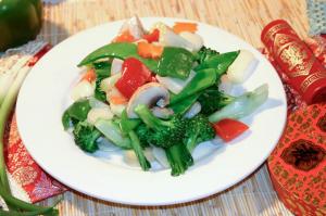 79. Assorted Deluxe Vegetables